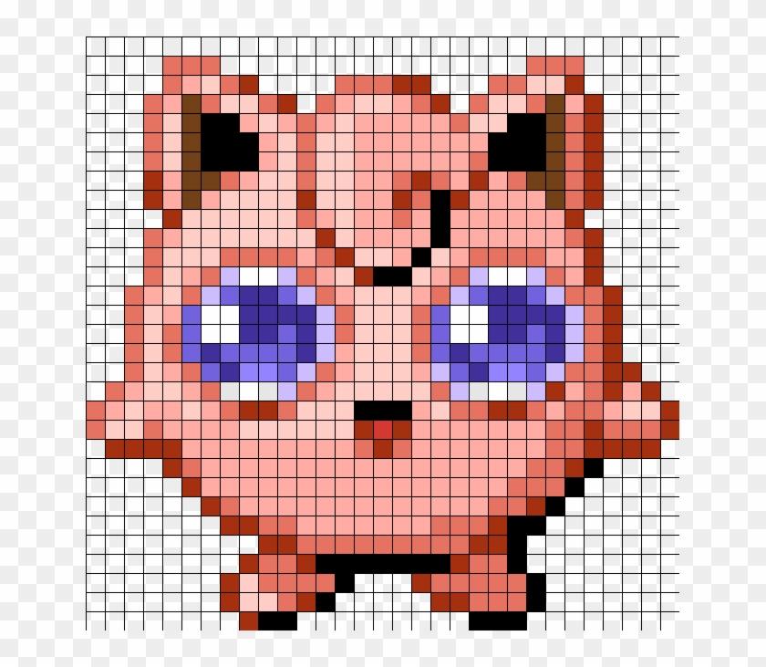 Jigglypuff Minecraft Pixel Art