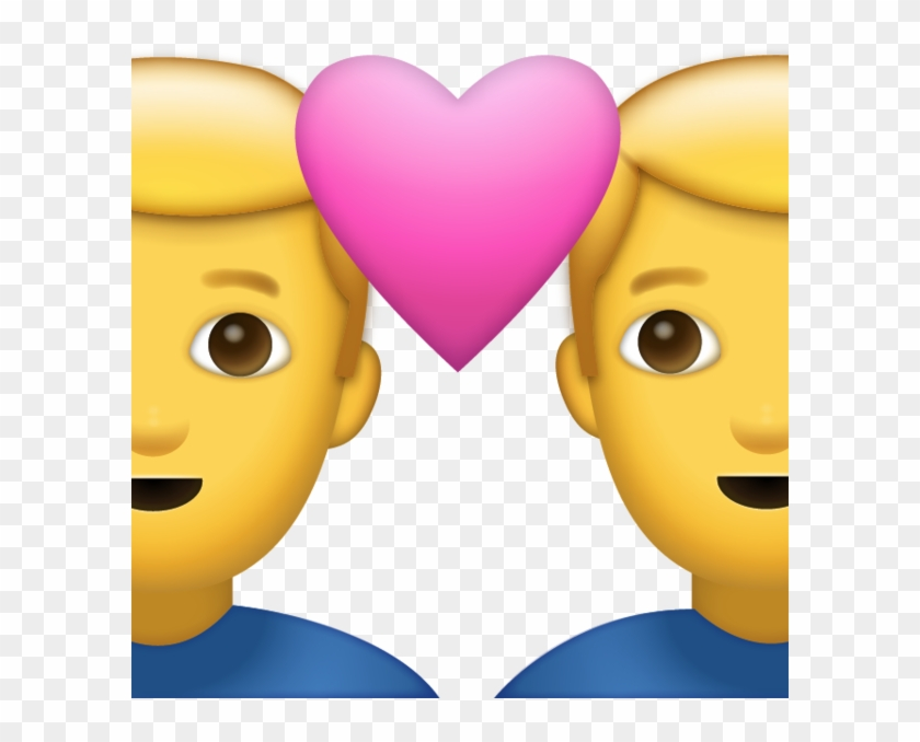 Red Heart Emoji Emojipedia - Emoji In Love Iphone, HD Png