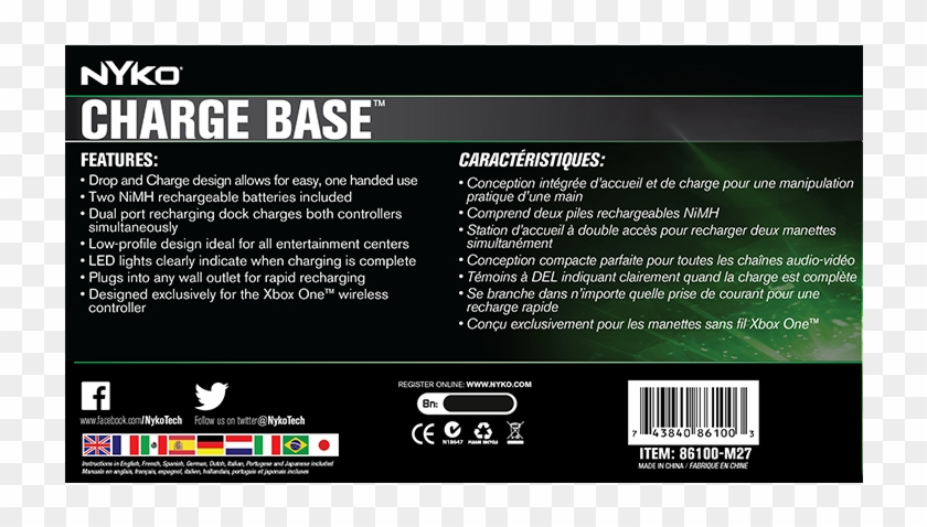 Charge Base For Xbox One Nyko Technologies Clock Hd Png Download 1024x768 709800 Pinpng