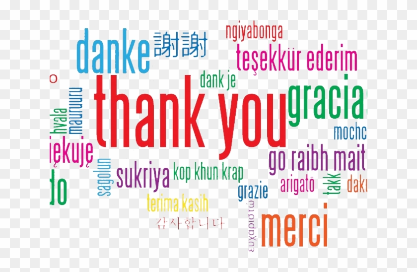 Thank You Png Transparent Images Thank You Slide Languages Png
