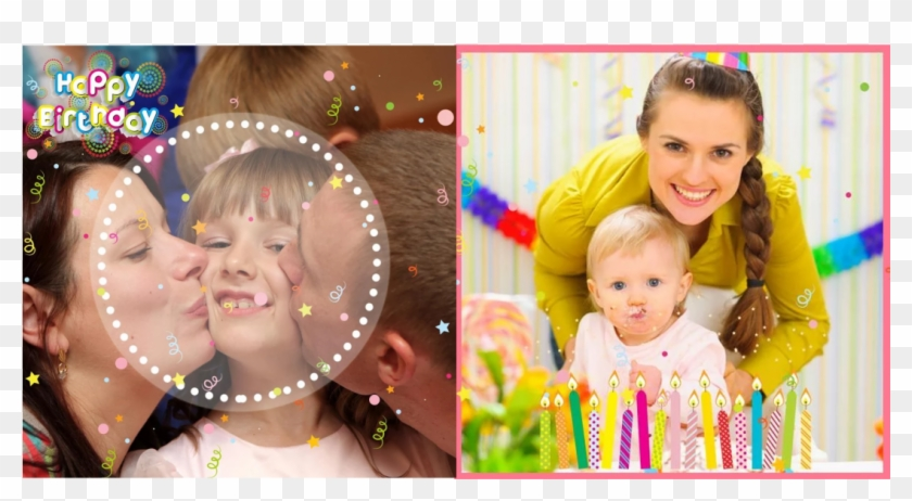 Birthday Collage App Video - Collage, HD Png Download
