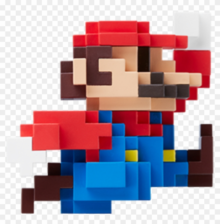 8bit Sticker - 30th Anniversary Mario Amiibo, HD Png