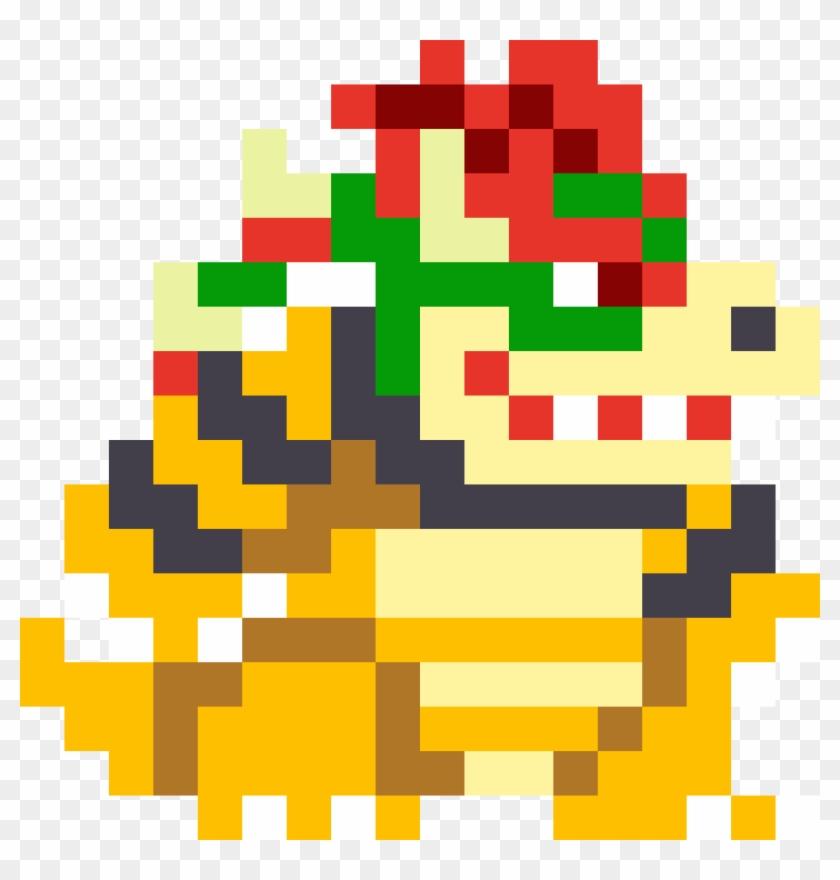 Bowser Pixel Png Bowser Pixel Art Transparent Png