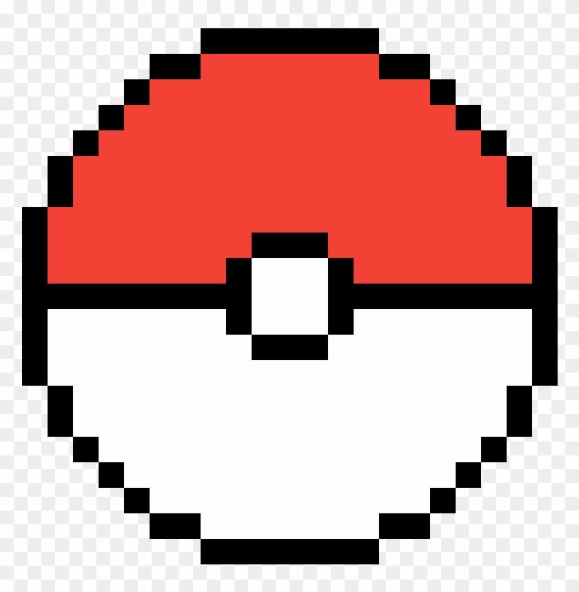 Pokemon Ball Minecraft Epic Pixel Art Hd Png Download