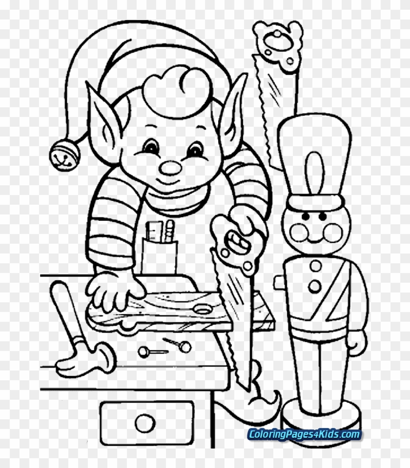 FREE Elf on the Shelf Coloring Pages - I Heart Naptime | 960x840