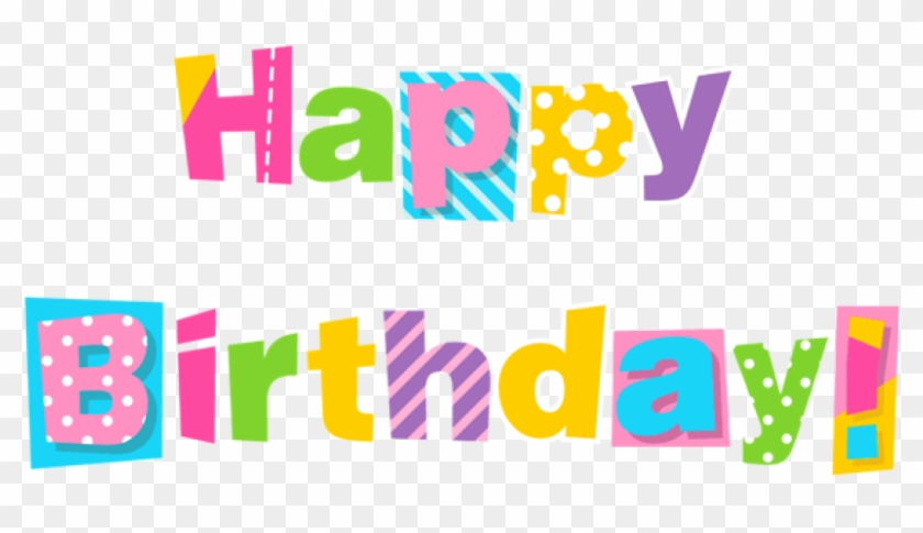 Free Png Download Colorful Happy Birthday Png Images - Happy