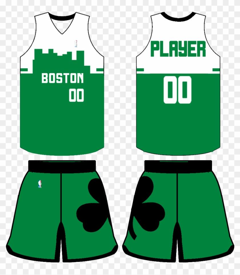 Uosihf0 7eb7b8o Boston Celtics Jerseys Concept Hd Png Download 1032x1248 861629 Pinpng