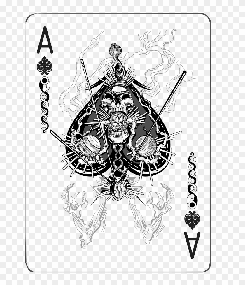 Ace Card Png Playing Card Ace Diamond Transparent Png 700x955