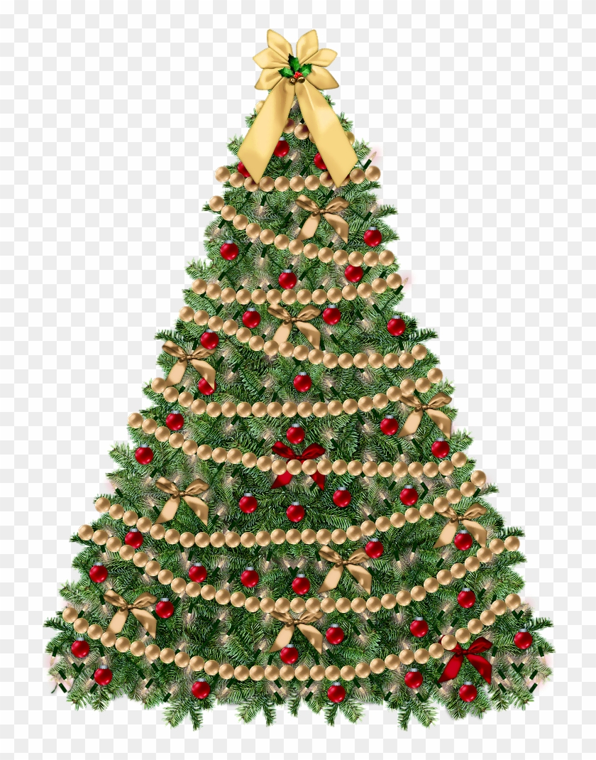 Transparent Small Deco Xmas Tree Png Clipart - Christmas