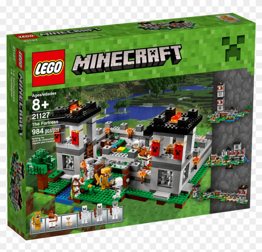 LEGO Minecraft™ The Zombie Cave 21141 2018 2018 Version Free Shipping