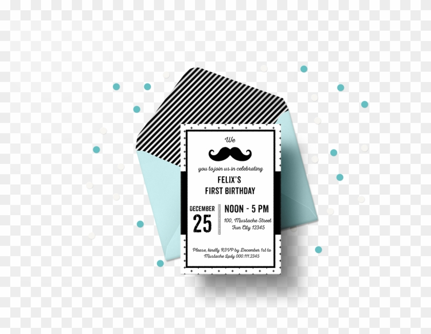 It is a graphic of Free Printable Mustache throughout birthday