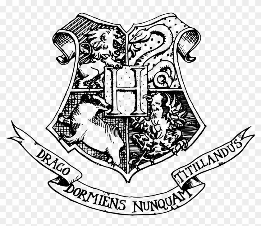 Hogwarts Logo Png Transparent Hogwarts Crest No Background Png