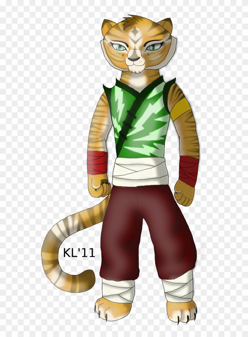 717 X 1114 4 Kung Fu Panda Oc Tiger Hd Png Download 717x1114 921963 Pinpng