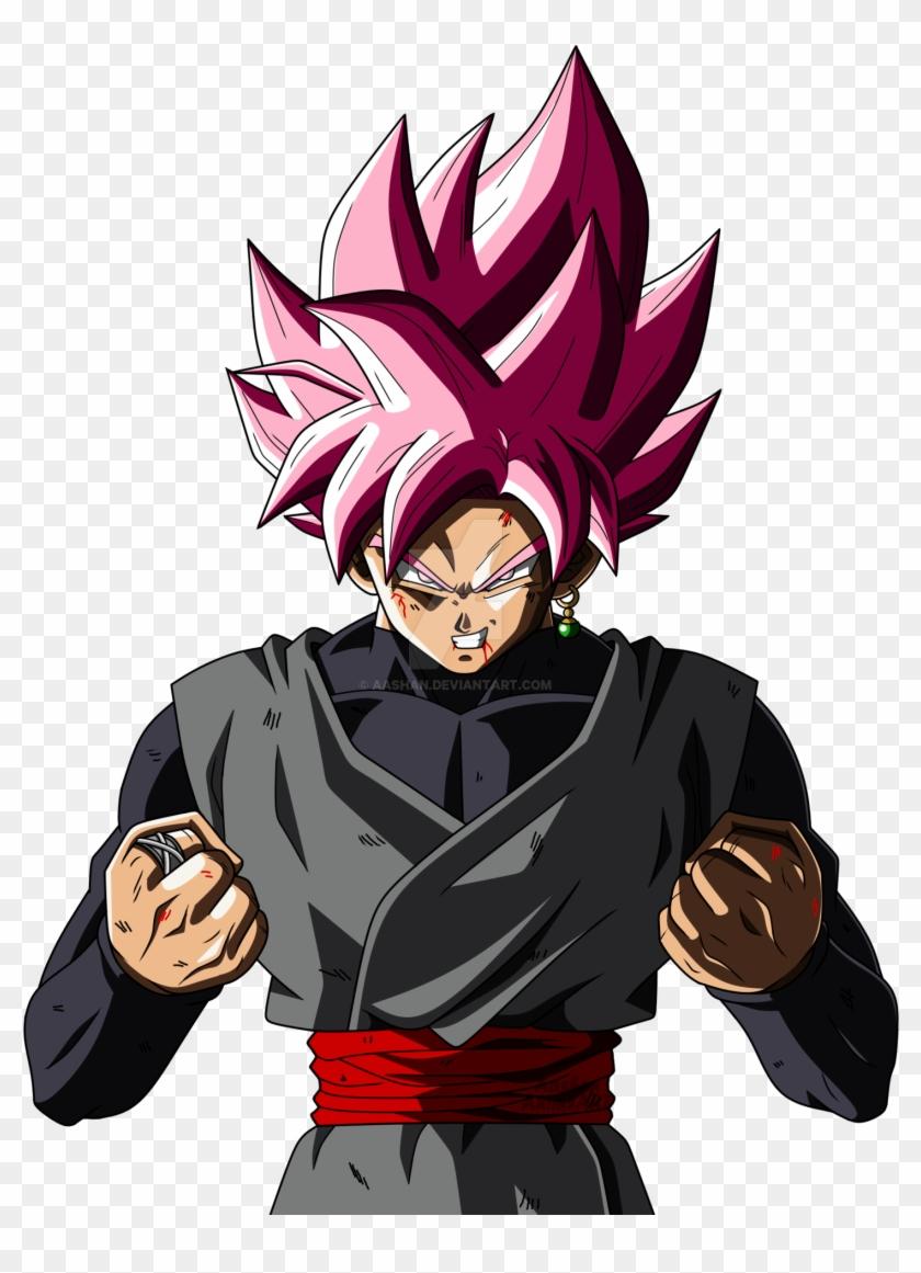 Ssj Rose Angry Super Saiyan Rose Goku Black Png Transparent Png