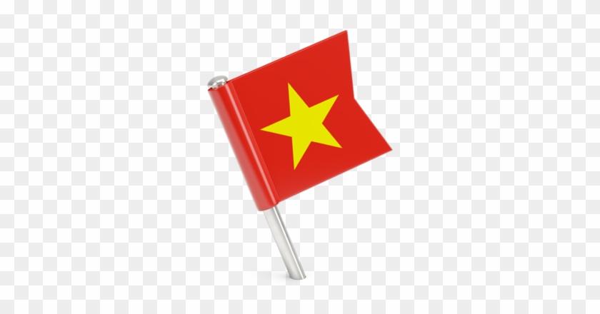 Vietnam Flag Transparent Png Vietnam Flag Pin Png Download 640x480 952097 Pinpng